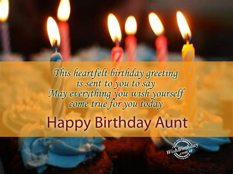 Happy Birthday Wishes For Yourself Birthday Wishes For Aunt Page 2