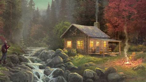 Away From It All Cabin by Away From It All By Kinkade