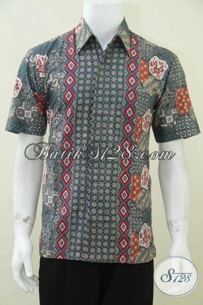 Hem Eksklusif hem batik pria keren motif sekarjagad truntum elegan dan