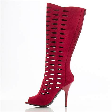 comfortable high heels brands new fashion peep toes cut outs flock coating high heels