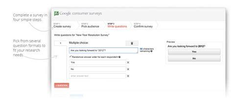 Google Surveys For Money - google consumer surveys tool promises cash and stats slashgear