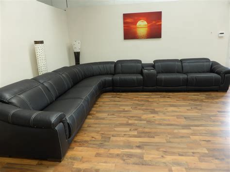 Large Sectional Sofas With Recliners Bianco Large 8 Electric Reclining Sofa Furnimax Brands Outlet