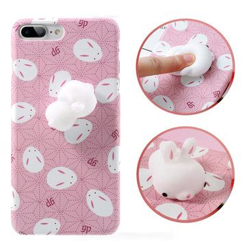 Softcase Squishy Squeeze Rabbit Soft Cover Casing Iphone 6 6s bakeey 3d squishy squeeze rising soft rabbit pc for iphone 7 7plus sale