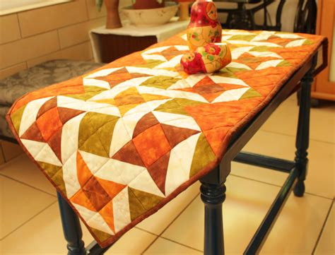quilted table runner coffee table runner quilted table