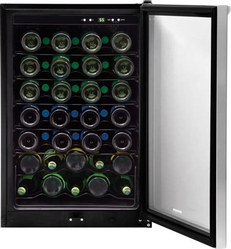 Frigidaire Wine Rack by Frigidaire Ffwc4222qs 22 Inch Wine Cooler With 42 Bottle