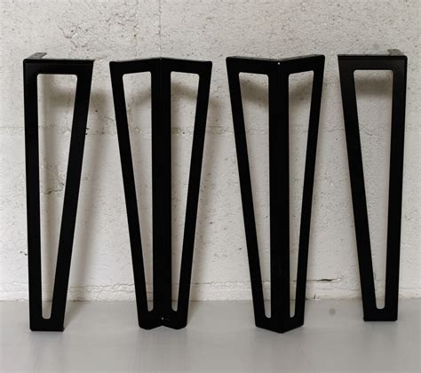 pied type hairpin legs pour table basse 40cm ref
