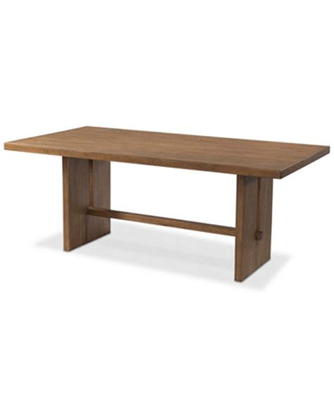 Macy Dining Table Athena Trestle Dining Table Furniture Macy S