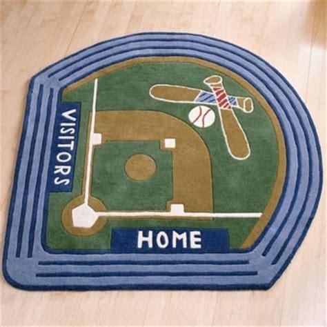 baseball field rug kids decorating ideas