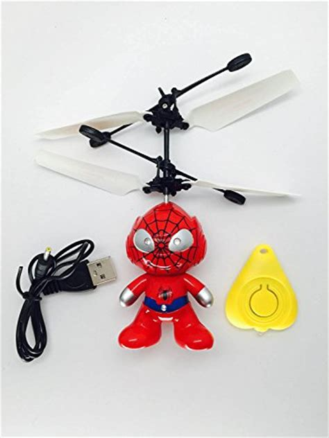 Sale Helicopter Sensor Tangan Helicopter Mini Sensor mini intelligent children flying rc small yellow captain america led