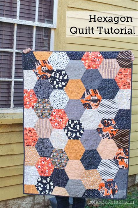 Big Quilt Tutorial by 25 Unique Hexagon Quilt Pattern Ideas On