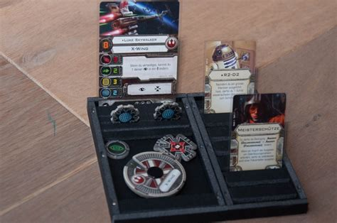 x wing upgrade card template foamcore ship card trays x wing ffg community