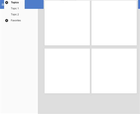 layout core css css polymer layout toolbar core drawer panel stack
