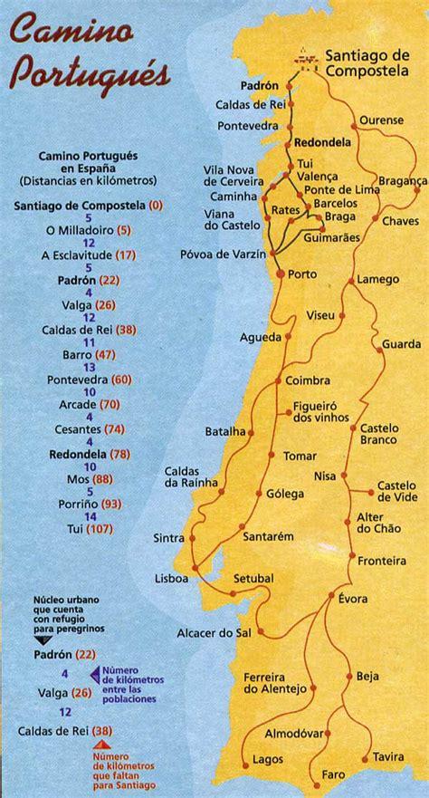 Camino De Santiago Portugal by El Camino De Santiago пути El Camino
