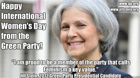 Womens Day Meme - happy international women s day from the green party quot i