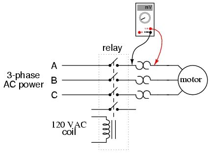 phase motor wiring diagram contactor relay fuse box