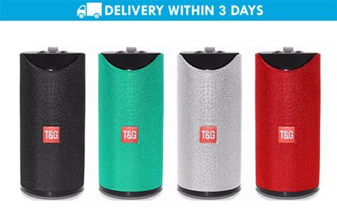 tg super bass wireless bluetooth speaker promo