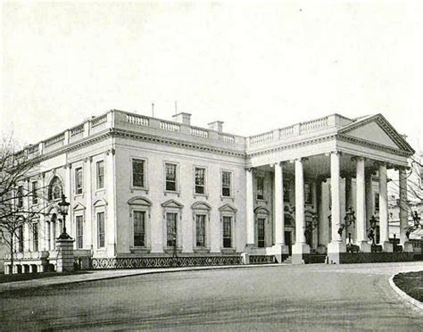 picture of the white house north portico white house museum