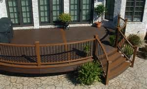 Trex Stair Railing by Curved Products Bugh Inc