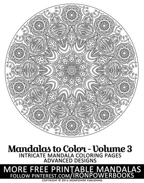 advanced mandala coloring pages pdf free advanced mandala designs to color therapy