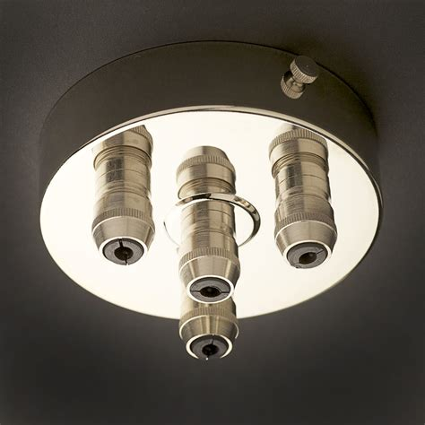 Pendant Light Ceiling Plate Preserving Jar Nickel E14 Pendant