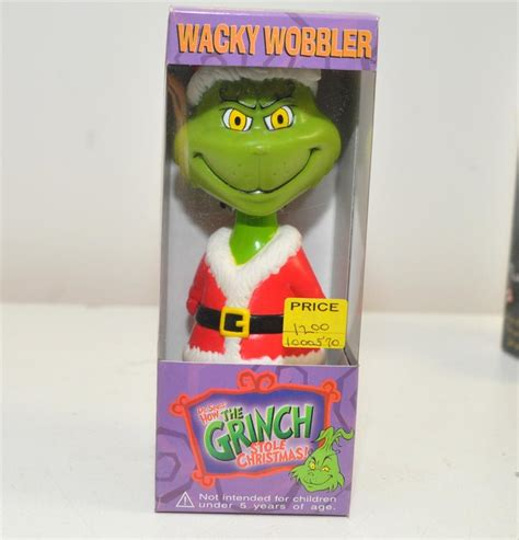 d r bobblehead funko wacky wobblers dr seuss how the grinch stole