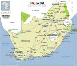 Outline Map Of South Africa With Major Cities by South Africa Map Royalty Free