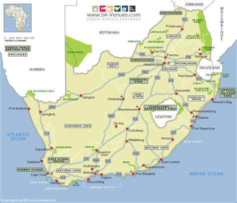 free printable road maps south africa south africa map royalty free