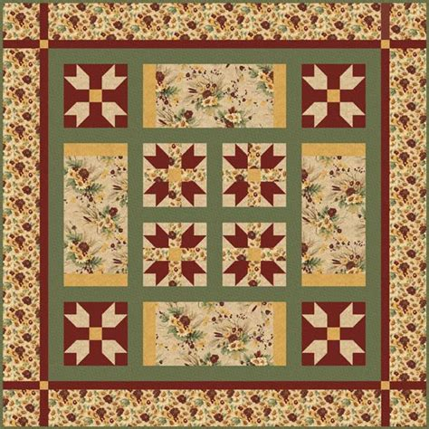 Free Fall Quilt Patterns by Free Quilt Pattern Autumn Colors Quilt