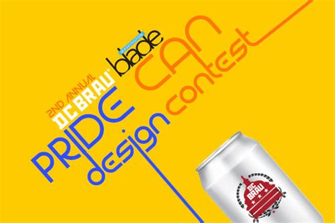 dc design contest dc brau washington blade pride can design contest