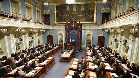 debates tuesday 5th october 2010 national assembly of quebec legislators debate deficit ethics montreal cbc