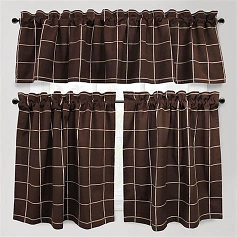 Kitchen Tier Curtains Buy Abby Kitchen 24 Inch Window Curtain Tier Pair From Bed Bath Beyond