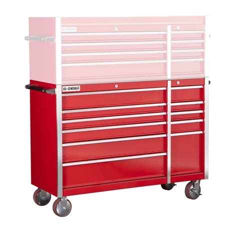 harbor freight storage cabinet 56 in 11 glossy red industrial roller cabinet