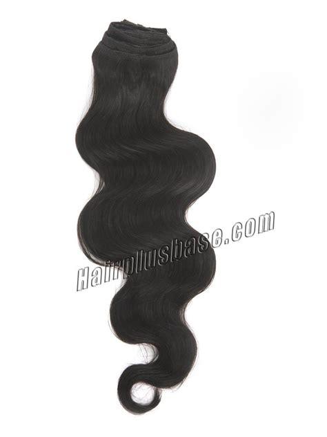 26 inch 1b 613 clip 26 inch vibrant 1b black clip in remy hair