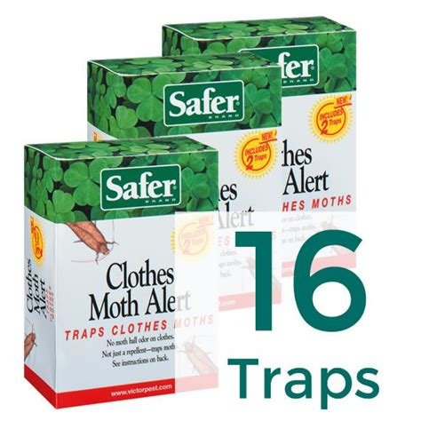 clothes moth trap 16 traps safer 174 brand