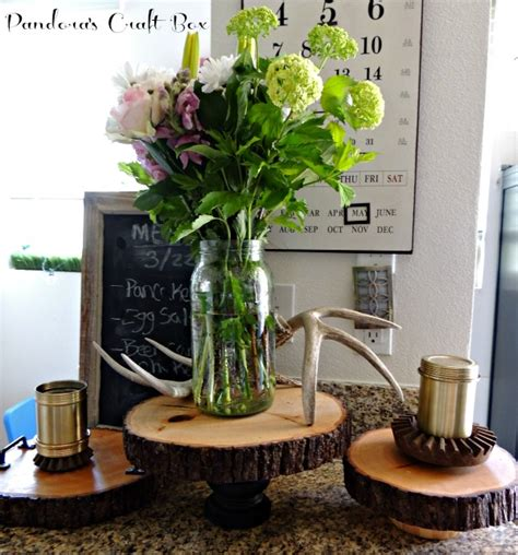 Home Decor Stands by Diy Rustic Home Decor Wooden Cake Stand