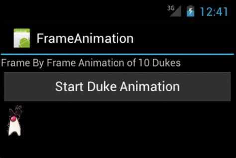 android animate layout width android tutorial animation frame by frame layout