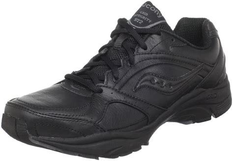 black walking sneakers saucony progrid integrity st2 walking shoe in black black