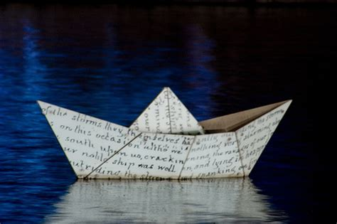 Paper Ship - paper boat thought wagon