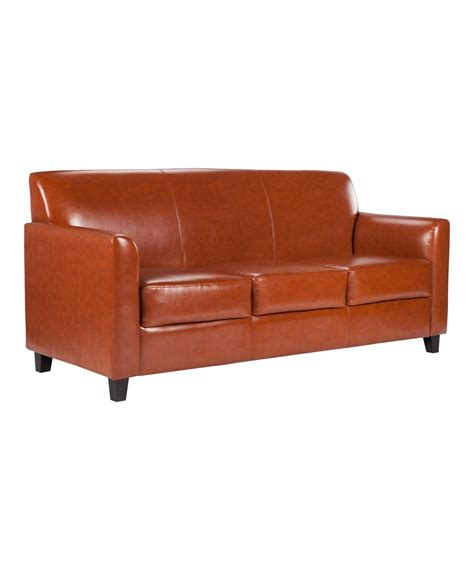 Leather Reception Sofa Diplomat Leather Reception Sofa