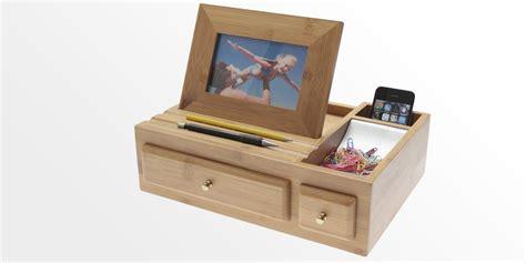 Desk Stationary by Desk Stationery Organiser Pen Pencil Holder Bamboo Desktop