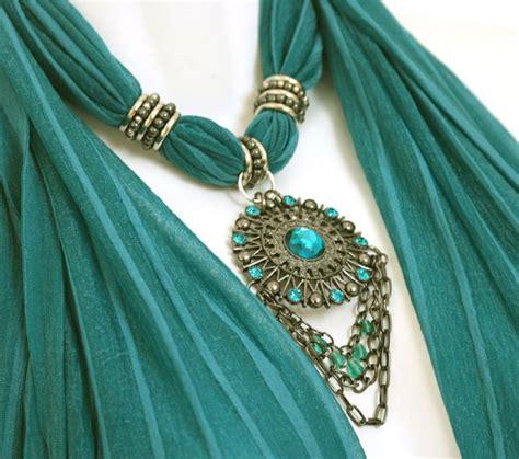how to make jewelry scarves best 25 scarf jewelry ideas on scarf ideas