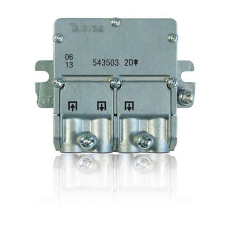 Splitter 2 Way 5 2400mhz televes 2 way splitter easy f 5 2400mhz dc pass 543503