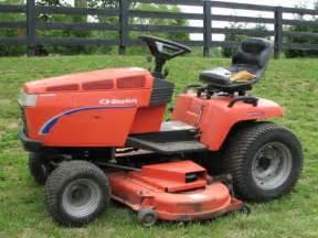 simplicity landlord dlx 20 lawn tractor