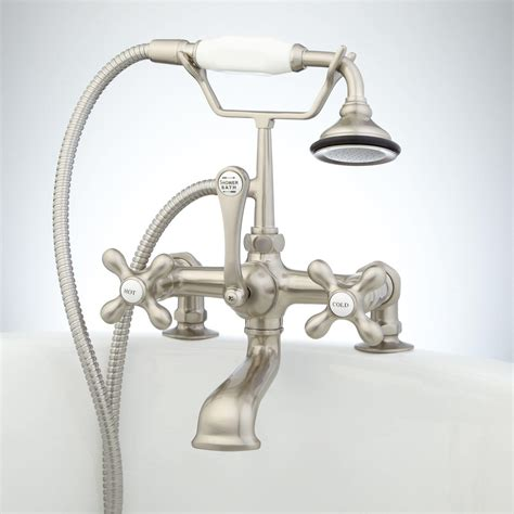 tub wall mount telephone faucet hand shower porcelain wall mount telephone faucet hand shower porcelain