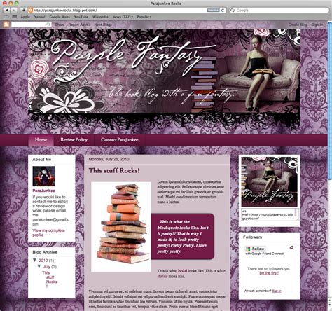blogger templates for sale blog template for sale parajunkee design
