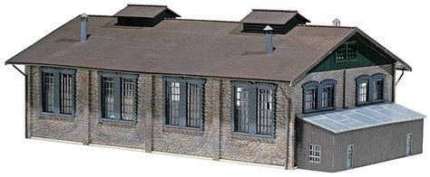 faller 120165 ho scale engine shed