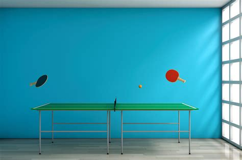table tennis and ping pong everything you need to about ping pong table dimensions