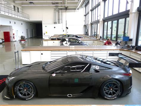widebody lexus lfa toyota s secret gte car revealed racecar engineering
