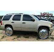 2010 Chevrolet Tahoe On 30 Davin PWRFL Spinners  1080p