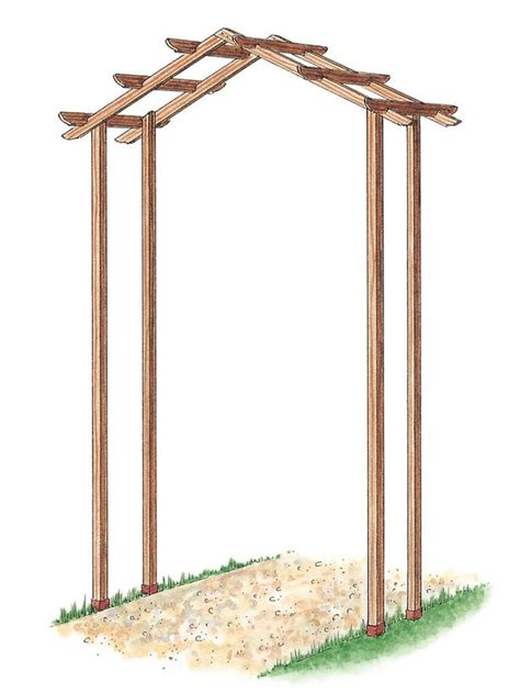 Wedding Arch Blueprint by Woodworking Plans Plans For Wooden Arch Pdf Plans